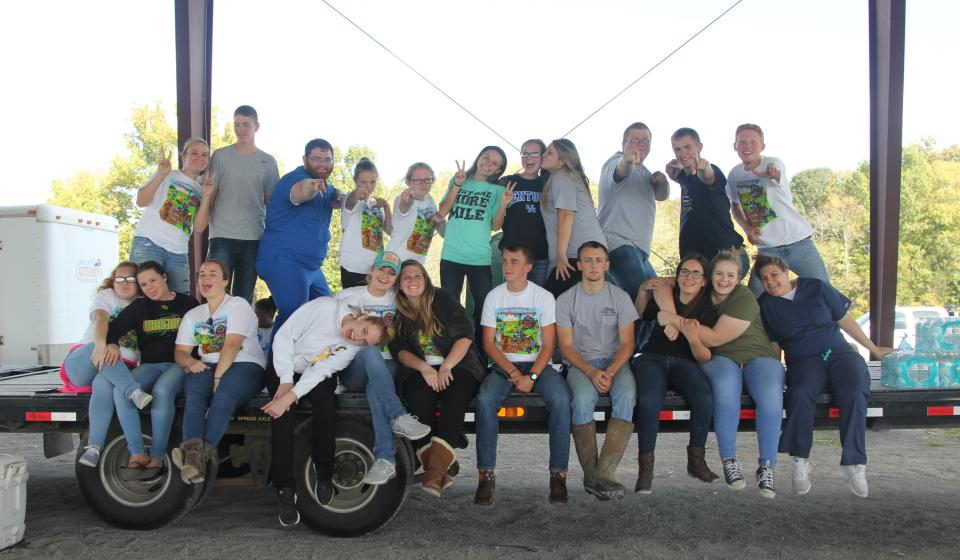 4-H teaches Leadership by giving youth opportunities to be leaders.